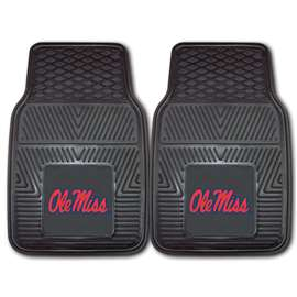 University of Mississippi (Ole Miss)  2-pc Vinyl Car Mat Set