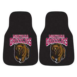 University of Montana 2-pc Carpet Car Mat Set Front Car Mats