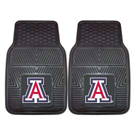 University of Arizona 2-pc Vinyl Car Mat Set Front Car Mats