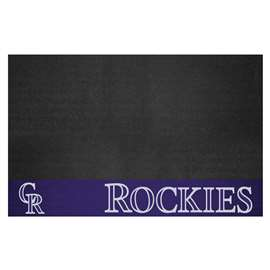 MLB - Colorado Rockies Grill Mat Tailgate Accessory
