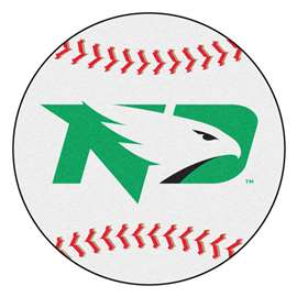 University of North Dakota  Baseball Mat Rug Carpet Mats
