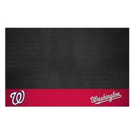 "MLB - Washington Nationals Grill Mat 26""x42""  Grill Mat"