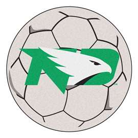 University of North Dakota  Soccer Ball Mat, Rug , Carpet