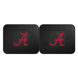 University of Alabama  2 Utility Mats Rug Carpet Mat