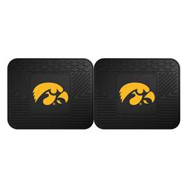 University of Iowa 2 Utility Mats Rear Car Mats