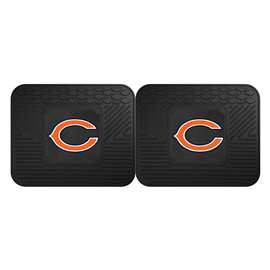 NFL - Chicago Bears 2 Utility Mats Rear Car Mats
