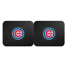 "MLB - Chicago Cubs 2-pc Utility Mat 14""x17""  2 Utility Mats"