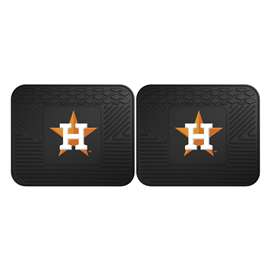 MLB - Houston Astros 2 Utility Mats Rear Car Mats
