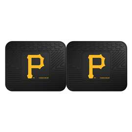 "MLB - Pittsburgh Pirates 2-pc Utility Mat 14""x17""  2 Utility Mats"