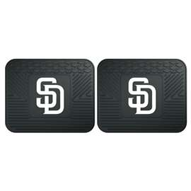 "MLB - San Diego Padres 2-pc Utility Mat 14""x17""  2 Utility Mats"