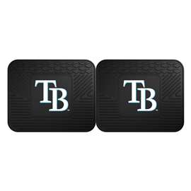 MLB - Tampa Bay Rays 2 Utility Mats Rear Car Mats