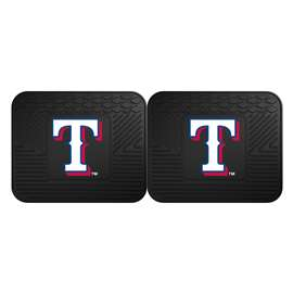 MLB - Texas Rangers 2 Utility Mats Rear Car Mats