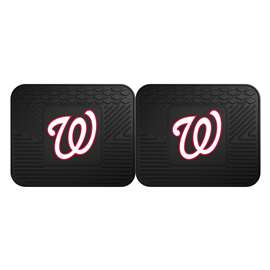 "MLB - Washington Nationals 2-pc Utility Mat 14""x17""  2 Utility Mats"