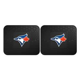 MLB - Toronto Blue Jays 2 Utility Mats Rear Car Mats
