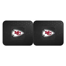 NFL - Kansas City Chiefs 2 Utility Mats Rear Car Mats