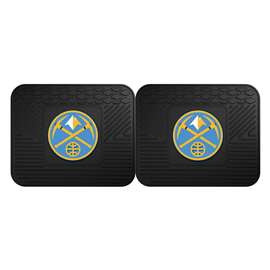 NBA - Denver Nuggets 2 Utility Mats Rear Car Mats