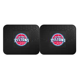 NBA - Detroit Pistons 2 Utility Mats Rear Car Mats