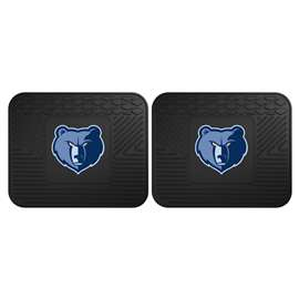NBA - Memphis Grizzlies 2 Utility Mats Rear Car Mats