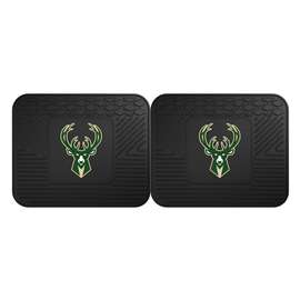 NBA - Milwaukee Bucks 2 Utility Mats Rear Car Mats