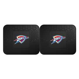 NBA - Oklahoma City Thunder 2 Utility Mats Rear Car Mats