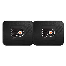NHL - Philadelphia Flyers 2 Utility Mats Rear Car Mats