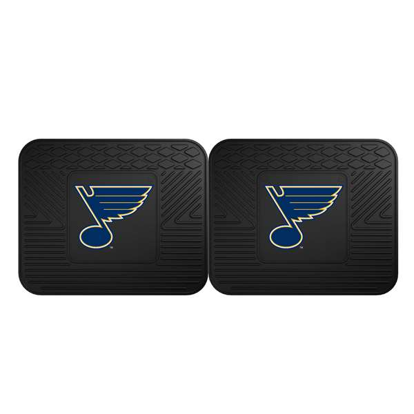 NHL - St. Louis Blues 2 Utility Mats Rear Car Mats