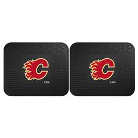 NHL - Calgary Flames Rug Carpet Mat 14 X 17 Inches