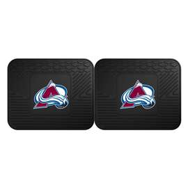NHL - Colorado Avalanche 2 Utility Mats Rear Car Mats