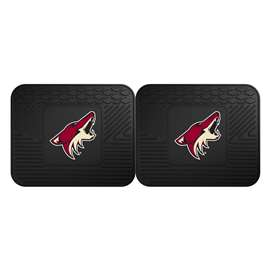 NHL - Arizona Coyotes 2 Utility Mats Rear Car Mats