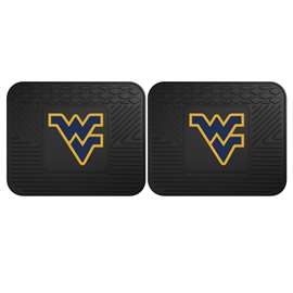 West Virginia University  2 Utility Mats Rug Carpet Mat