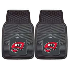 Western Kentucky University  2-pc Vinyl Car Mat Set