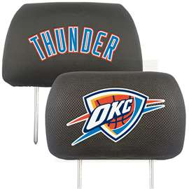 NBA - Oklahoma City Thunder Head Rest Cover Automotive Accessory