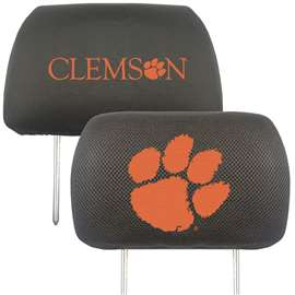 Clemson University  Head Rest Cover Car, Truck