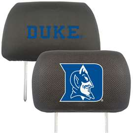 Duke University Head Rest Cover Automotive Accessory