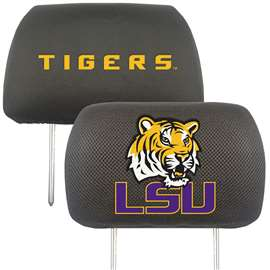 Louisiana State University  Head Rest Cover Car, Truck