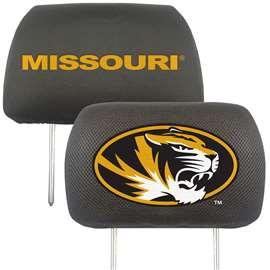 University of Missouri Head Rest Cover Automotive Accessory