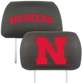 University of Nebraska  Head Rest Cover Car, Truck
