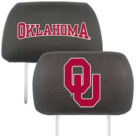 University of Oklahoma  Head Rest Cover Car, Truck