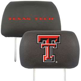 Texas Tech University Head Rest Cover Automotive Accessory