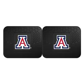 University of Arizona 2 Utility Mats Rear Car Mats