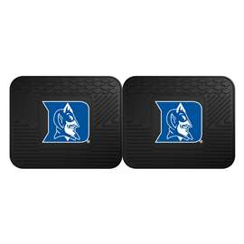 Duke University 2 Utility Mats Rear Car Mats