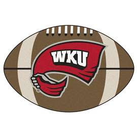 Western Kentucky University  Football Mat Mat Rug Carpet