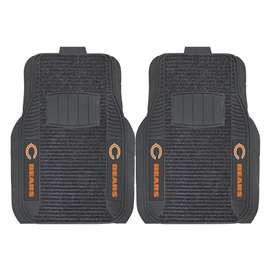 NFL - Chicago Bears 2-pc Deluxe Car Mat Set Front Car Mats
