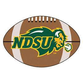 North Dakota State University Football Mat Ball Mats