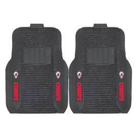 NFL - Kansas City Chiefs 2-pc Deluxe Car Mat Set Front Car Mats