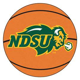 North Dakota State University Basketball Mat Ball Mats