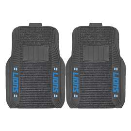 NFL - Detroit Lions 2-pc Deluxe Car Mat Set Front Car Mats