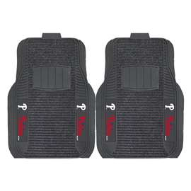 MLB - Philadelphia Phillies 2-pc Deluxe Car Mat Set Front Car Mats