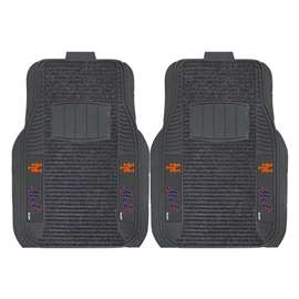 MLB - New York Mets 2-pc Deluxe Car Mat Set Front Car Mats