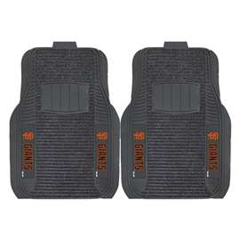 MLB - San Francisco Giants 2-pc Deluxe Car Mat Set Front Car Mats